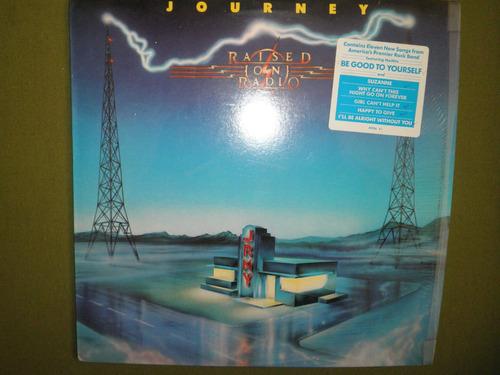 disco en vinyl importado de journey - raised on radio (1986)