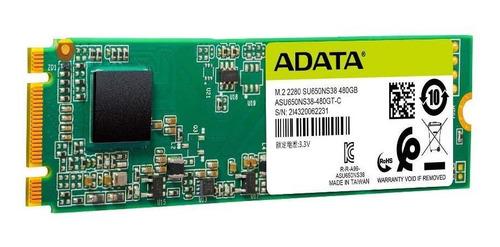 disco estado solido 480gb adata m.2 2280 controlador 3d nand