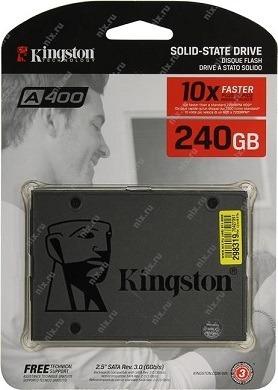 disco estado sólido ssd kingston a400 240gb - nuevo-original