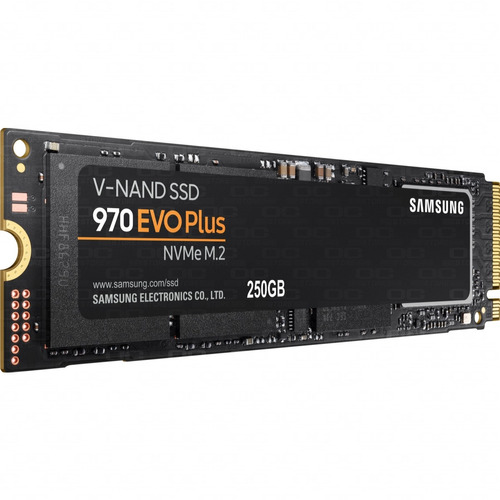 disco estado solido ssd samsung 970 evo plus 250gb nvme m.2