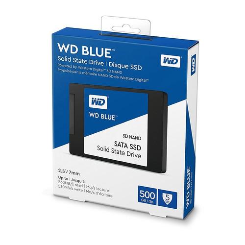 disco estado solido ssd wd blue 500gb sata3