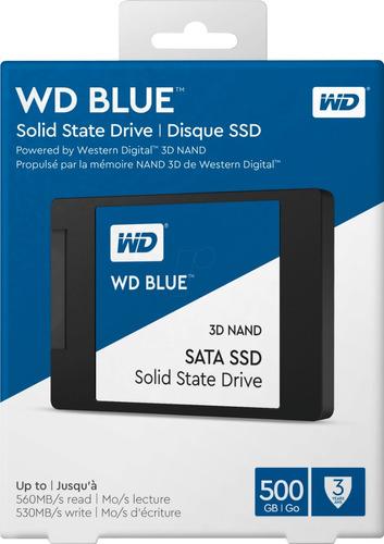 disco estado solido ssd wd blue 500gb sata3 cuotas