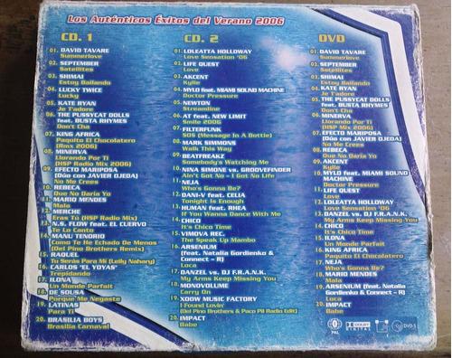 disco estrella 2006 vol 9 boxset de 2 cds y 1 dvd importados