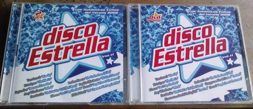 disco estrella 2008 vol 11 boxset de 2 cds y 1 dvd importado
