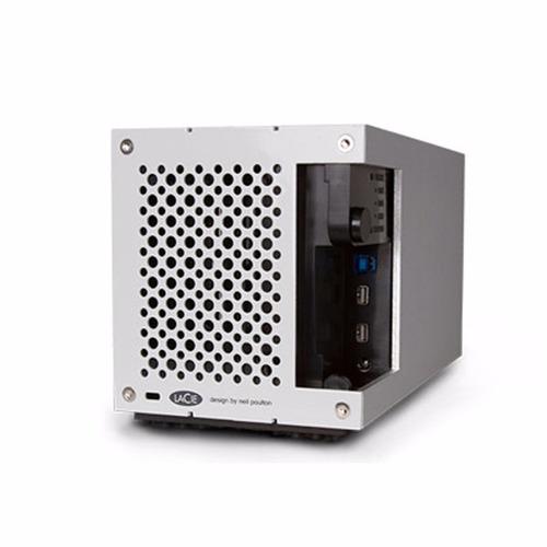 disco externo lacie 2big 6 tb thunderbolt 2 usb 3.0 raid 4k