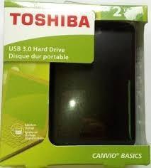 disco externo toshiba 2tb usb3.0 gratis estuche.