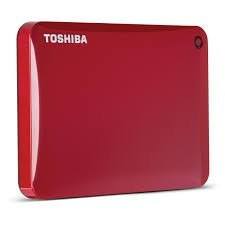 disco externo toshiba canvio connect ii usb 3.0 2tb rojo
