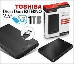 disco externo toshiba de 1tb 3.0 de !!! oferta !!!