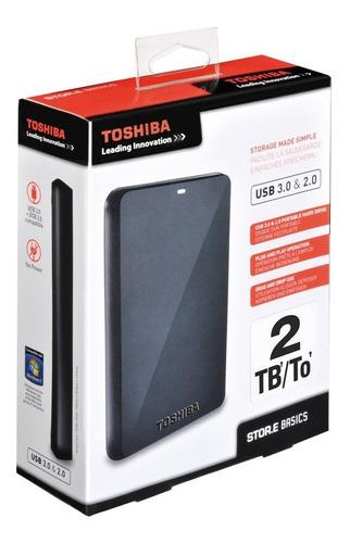 disco externo toshiba de 2tb 3.0. 100% originales