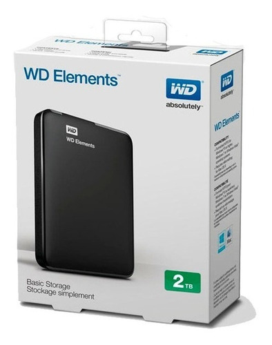 disco externo usb 3.0 western digital 2tb  win linux mac ps4