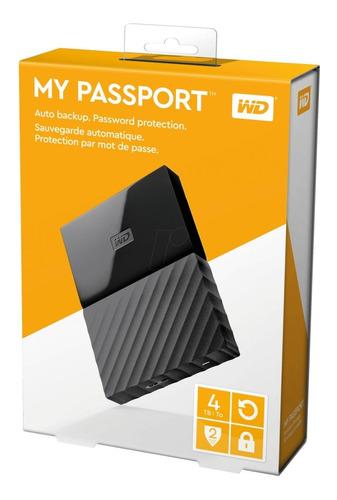 disco externo wd passport 4tb usb 3.0 negro cuotas