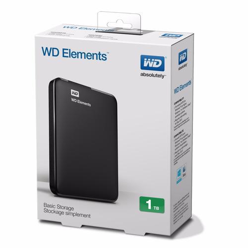 disco externo western digital elements 1tb usb 3.0 wd htg