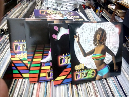 disco fever essential 4 cds nuevo versiones originales