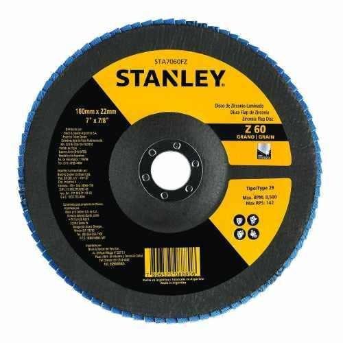 disco flap 7 , zirconia / 60  sta7060fz stanley