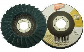 disco flap de acabamento extra-fino b-41589 makita