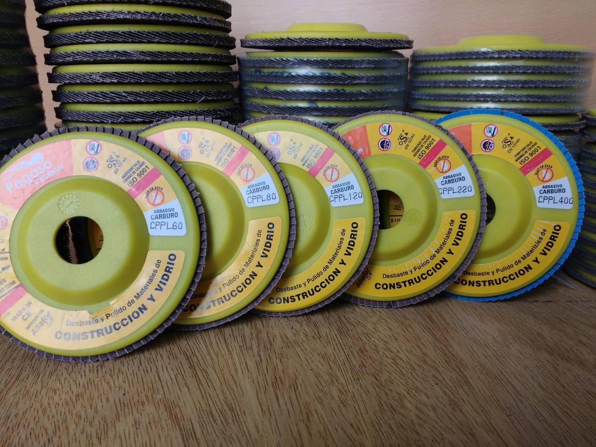 Disco Flap Pagman 115mm 60grs. Pulir Vidrio Marmol Granito - $ 130 ...