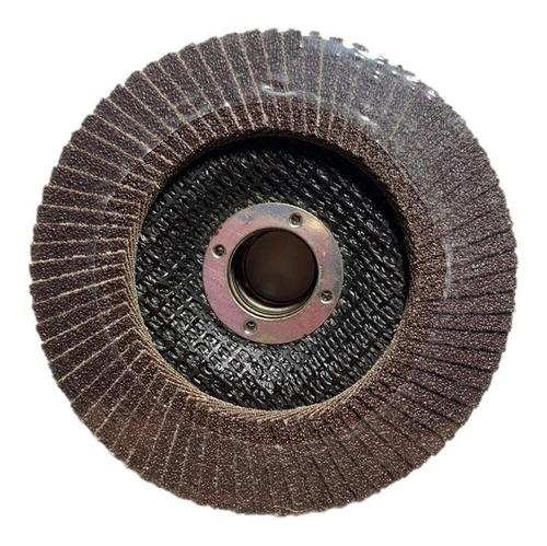 disco flap para pulir 4 1/2 security grano 80 5 unidades