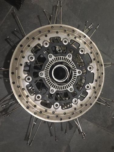 disco freio bmw f 800gs jogo de raios rolamentos