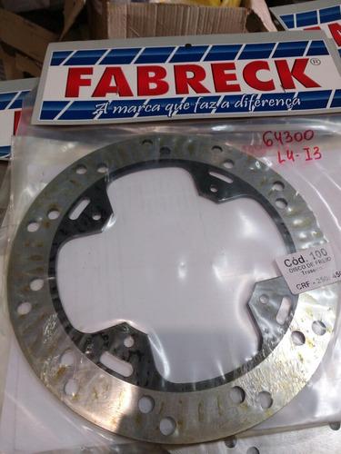 disco freio crf 250/450 traseiro fabreck.