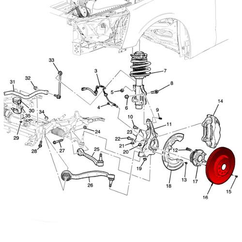 disco freio dianteiro ventilado meriva 2003 2012