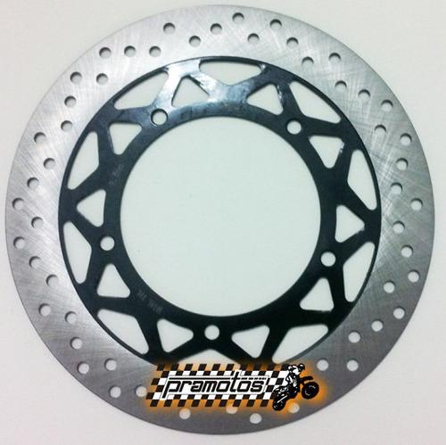 disco freio dianteiro yamaha ybr 125 factor - 2009 a 2013 gp