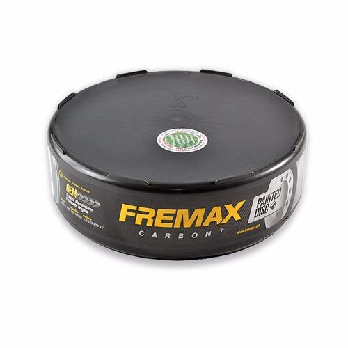 disco freio l200 gls até 02 pajero 2.5 91/93 fremax - bd7038