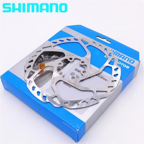 disco freio rotor shimano deore slx rt66 160mm c/ parafusos