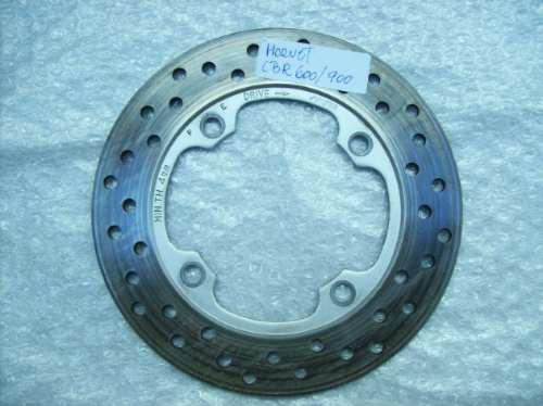 disco  freio tras. hornet 600/cbr600/900 race motoparts