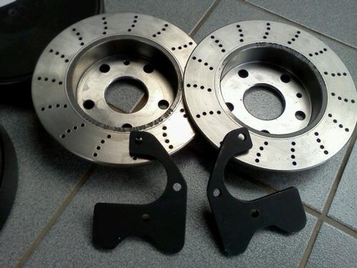 disco freio traseiro e suporte d pinça opala,maverick.motor,
