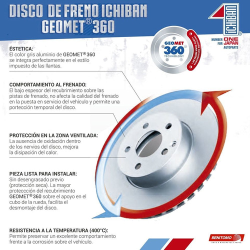 disco freno isuzu dmax 4wd 03 11 280x6h