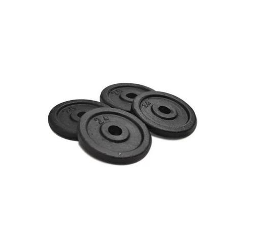 disco fundicion hierro 2.5 kgs mancuernas pesas 30 mm gym