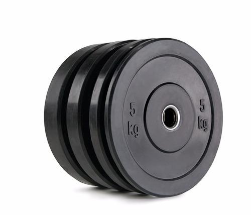 disco goma bumper olimpico crossfit 10 kg