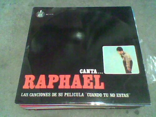 disco grande l.p. 331/3  raphael
