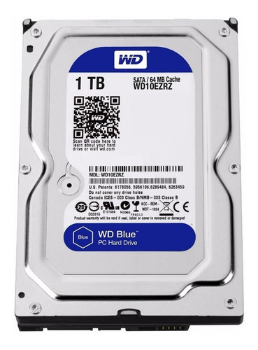 disco hdd 1 tb s-ata3 wd blue pc