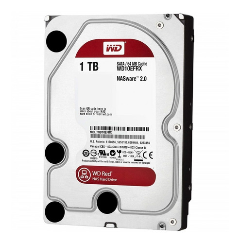 disco hdd wd s 1 tb s-ata red edition