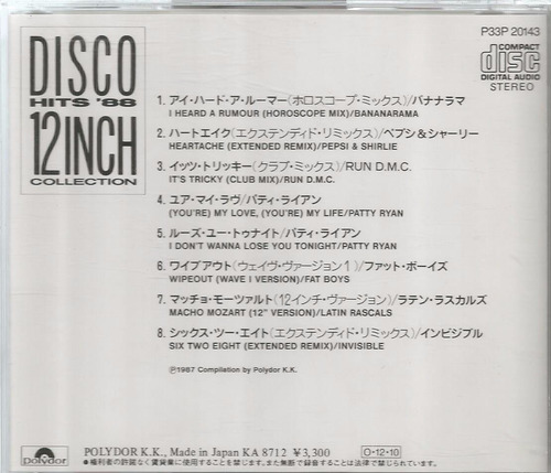 disco hits 88 - 12inch collection