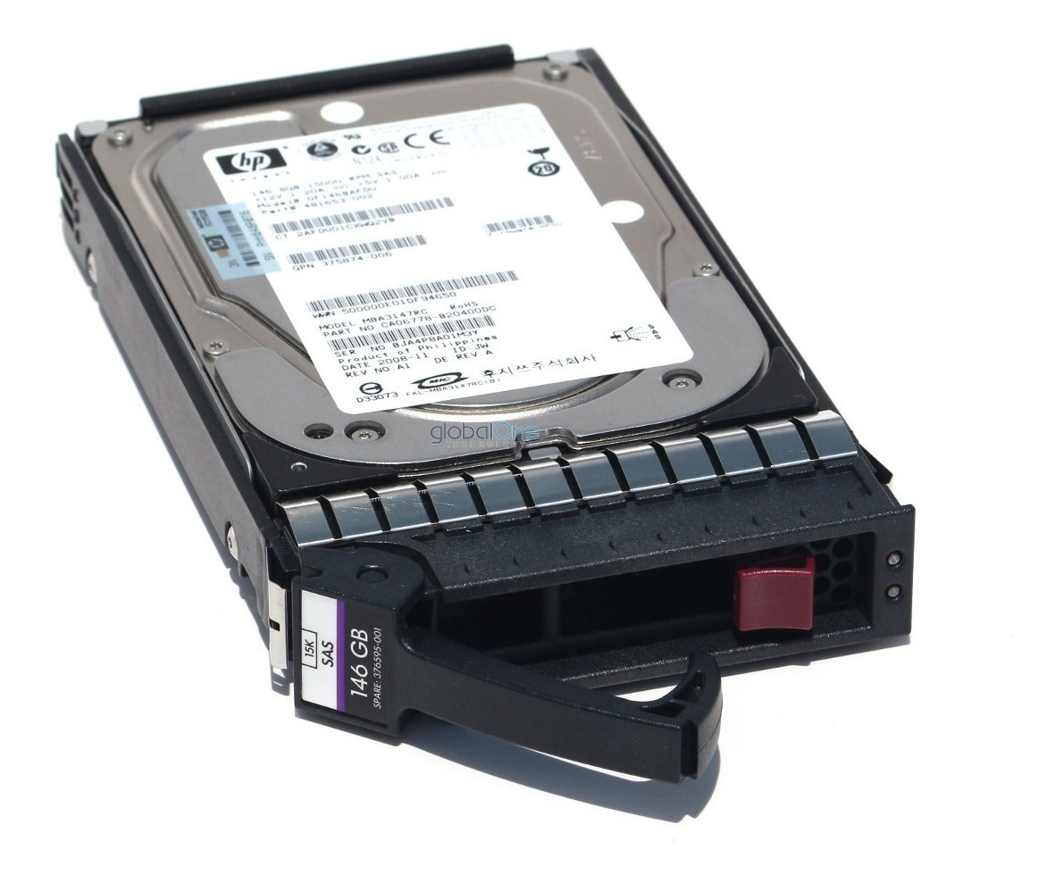 "HP 517350-001 516814-B21 300GB 15K 3.5/"" 6G DUAL PORT DRIVE"