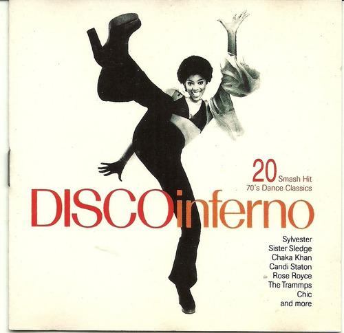disco inferno 20 smash hit 70's dance classics
