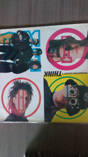 disco information society - think - 12'' single vinil us