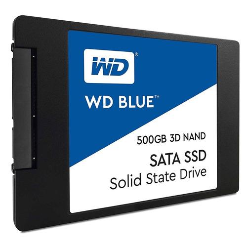 disco interno wd blue 500 gb ssd sata 2.5 7mm estado solido
