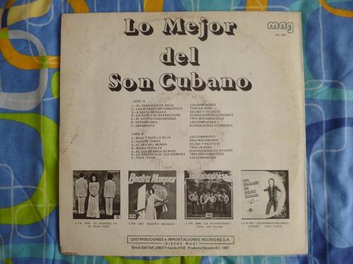 disco l p, lo mejor del son cubano