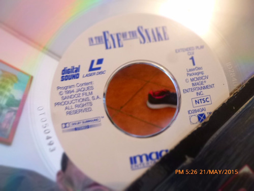 disco laser in the eye of the snake  pelicula (5