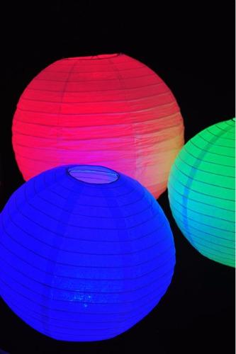 disco led rgb sumergible control remoto 16 colores / ilku