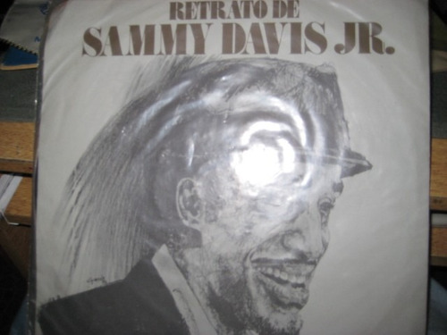disco long play - sammy davis jr. - retrato