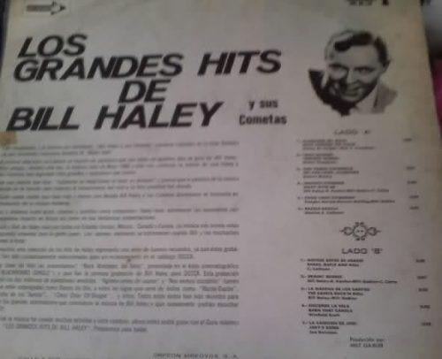 disco los grandes exitos de bill haley