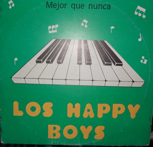 disco - los happy boys - mejor que nunca - 330.000bsf