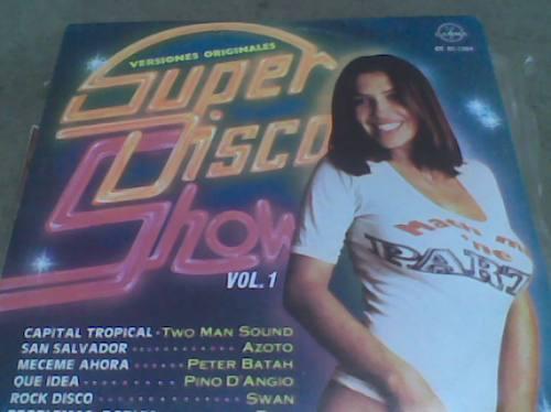 disco l.p. 331/3 super disco show