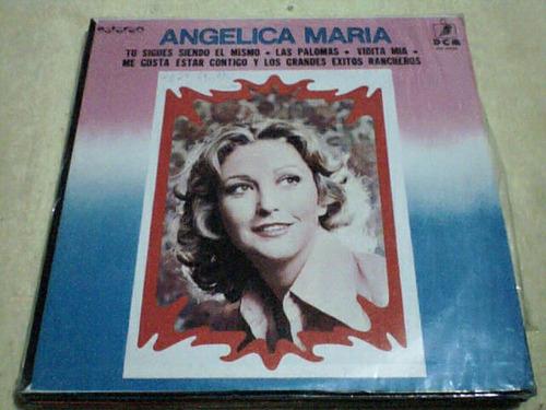 disco lp angelica maria - grandes exitos rancheros
