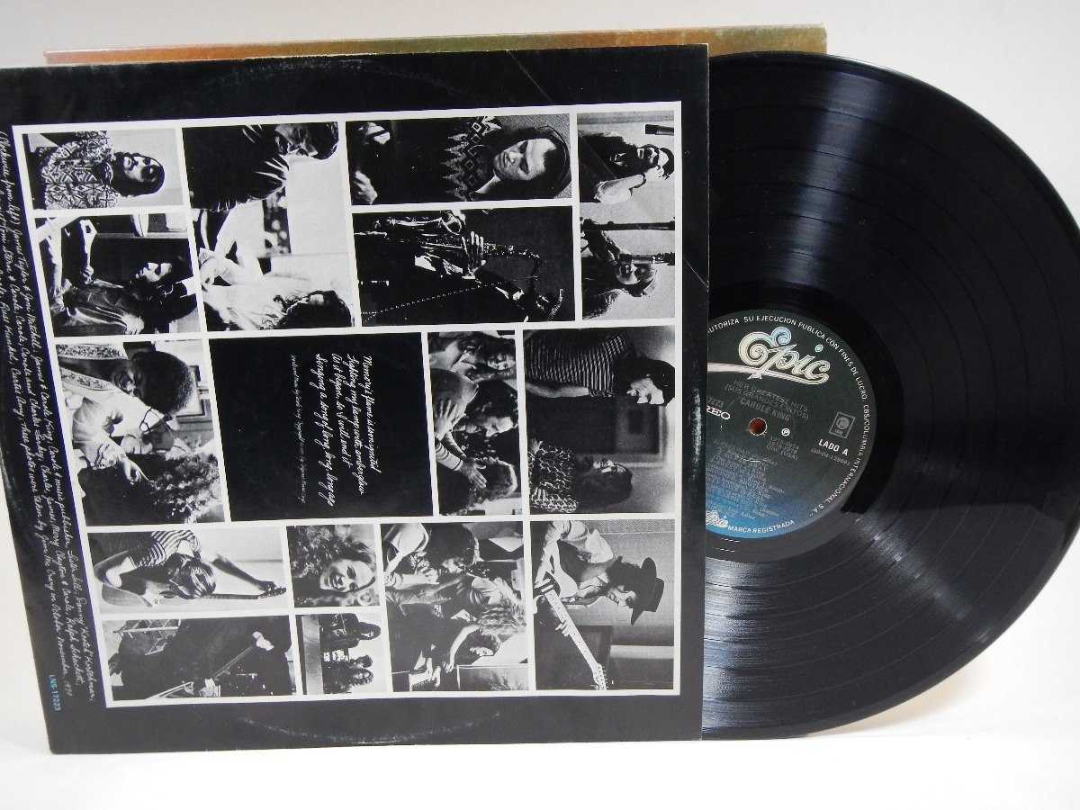 Disco Lp Carole King Her Greatest Hits Song Of Long Ago - $ 150 00