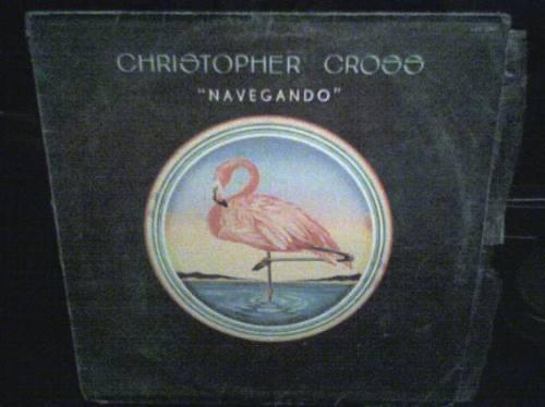 disco lp christopher cross, navegando, edicion nacional